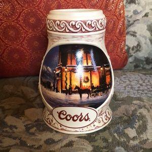 Coors Beer 1998 Stein